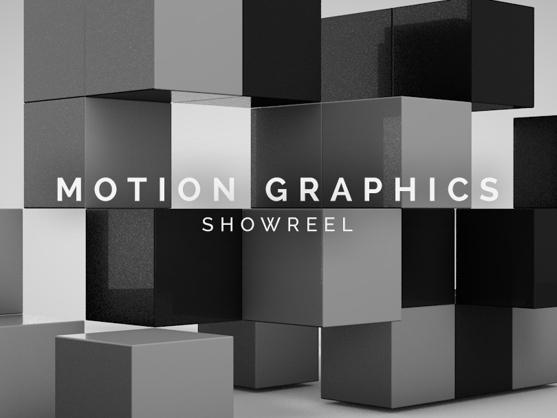 Motion Graphics Showreel
